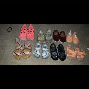 Girls size 5 shoe lot